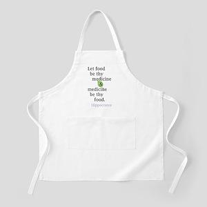 Let food be thy medicine Apron