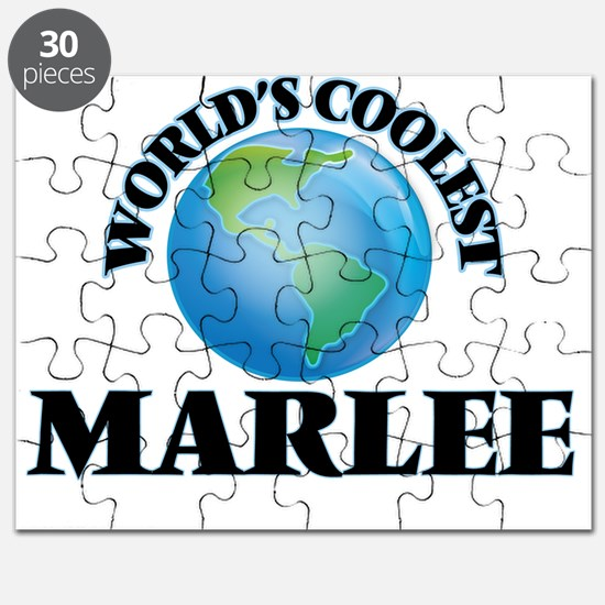 World's Coolest Marlee Puzzle