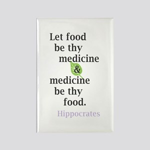Let food be thy medicine Magnets