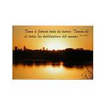 Salmos 33:8 (Esp) Rectangle Magnet (10 pack)