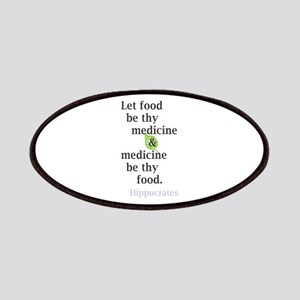 Let food be thy medicine Patch