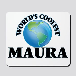World's Coolest Maura Mousepad