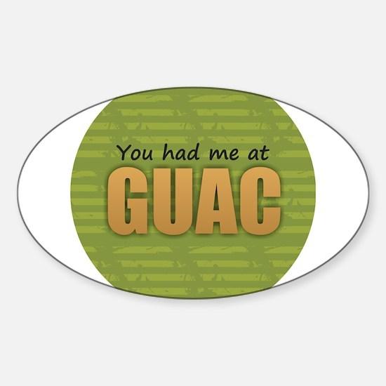 You Had Me at Guac Decal