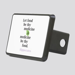 Let food be thy medicine Hitch Cover