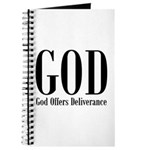 God Offers Deliverance Christian Prayer Journal