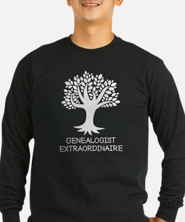 Genealogist Extraordinaire Long Sleeve T-Shirt