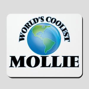 World's Coolest Mollie Mousepad