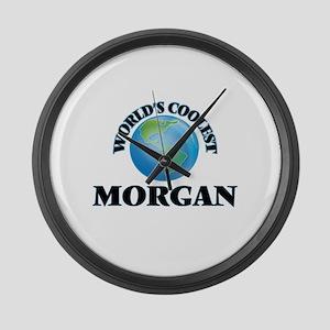 World's Coolest Morgan Large Wall Clock