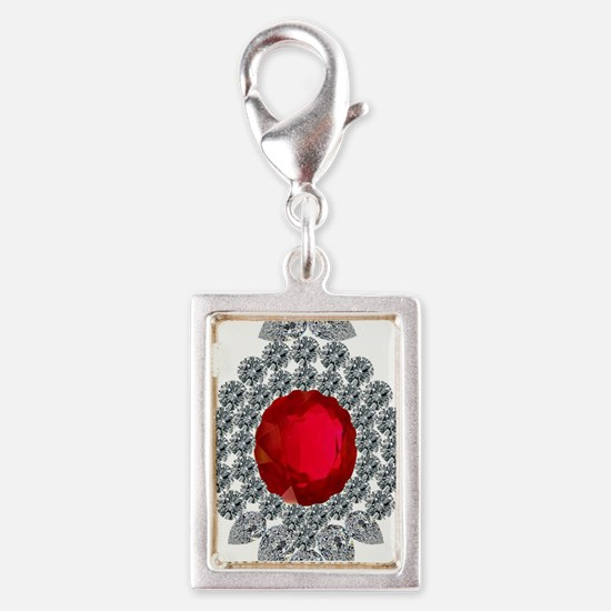 ruby brooch Charms
