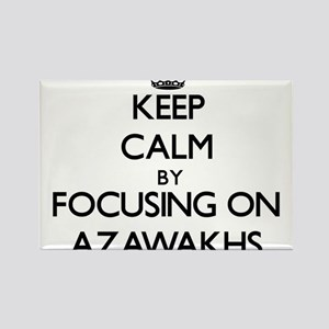 Keep calm by focusing on Azawakhs Magnets