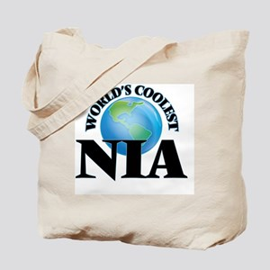 World's Coolest Nia Tote Bag