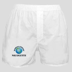 World's Coolest Nicolette Boxer Shorts