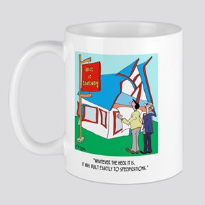 Building Cartoon 9233 Mug Mugs