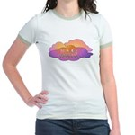 Awesome Clouds Jr. Ringer T-Shirt