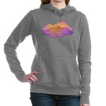 Awesome Clouds Women's Hooded Sweatshirt