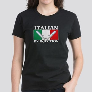 Italian By Injection Women's Dark T-Shirt