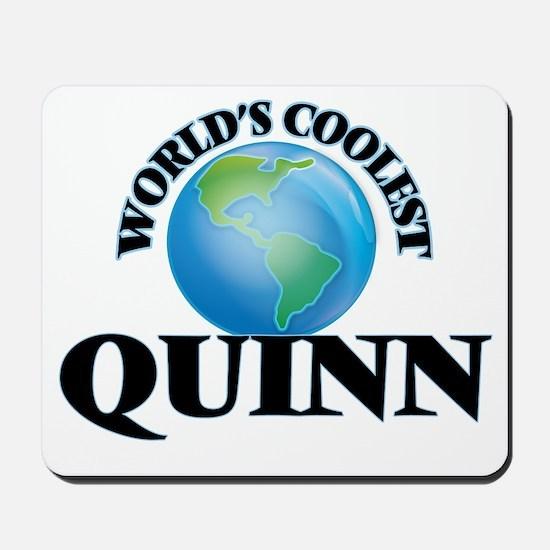 World's Coolest Quinn Mousepad