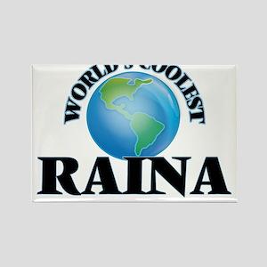 World's Coolest Raina Magnets