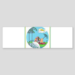 Sunbather Bumper Sticker