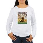 Spring / Dachshund Women's Long Sleeve T-Shirt