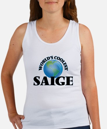World's Coolest Saige Tank Top