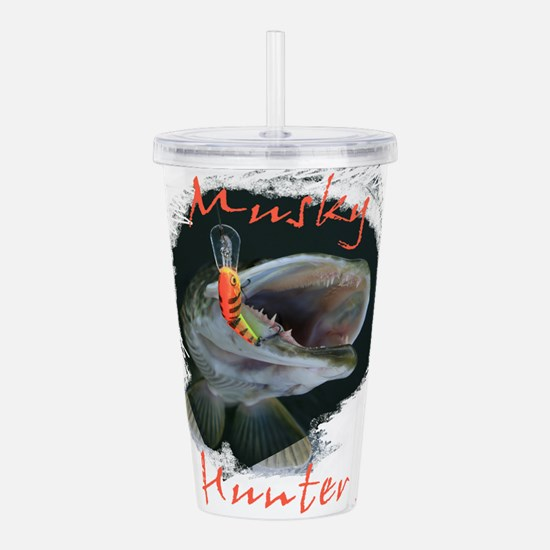 Musky Hunter Acrylic Double-wall Tumbler
