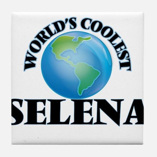 World's Coolest Selena Tile Coaster