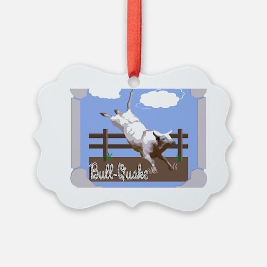 BullQuake! Ornament