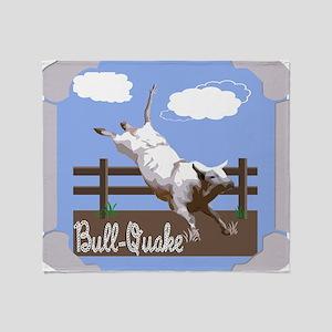 BullQuake! Throw Blanket