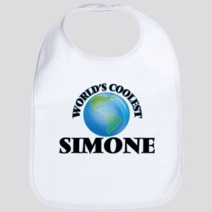 World's Coolest Simone Bib