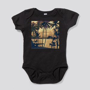 Tropical Silhouettes Baby Bodysuit