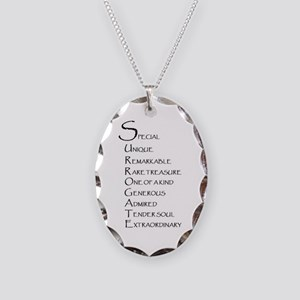 Surrogacy Necklace Oval Charm
