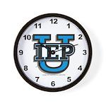IEP U Wall Clock