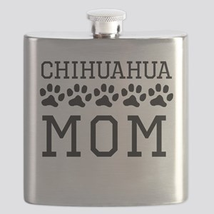 Chihuahua Mom Flask