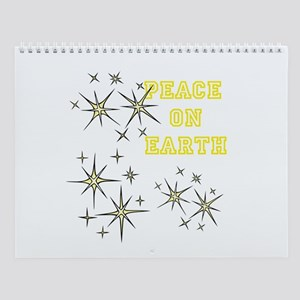 Stary Peace on Earth Wall Calendar