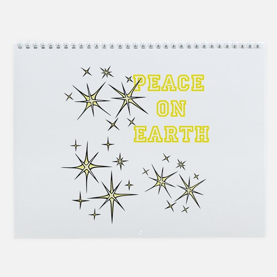 Stary Peace on Earth Wall Calendar