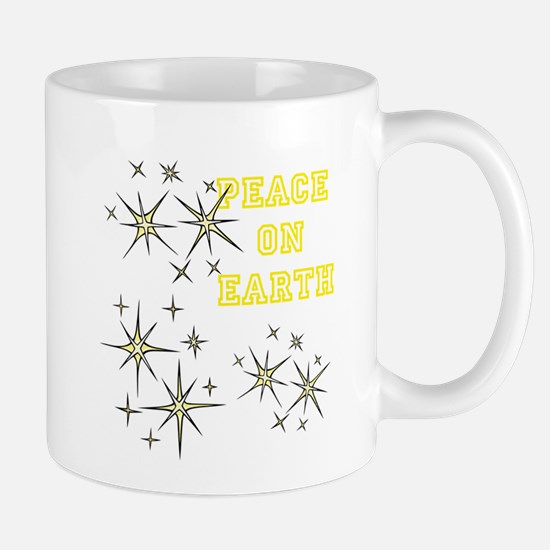 Stary Peace on Earth Mug
