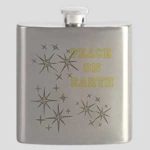 Stary Peace on Earth Flask