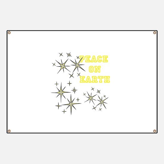 Stary Peace on Earth Banner