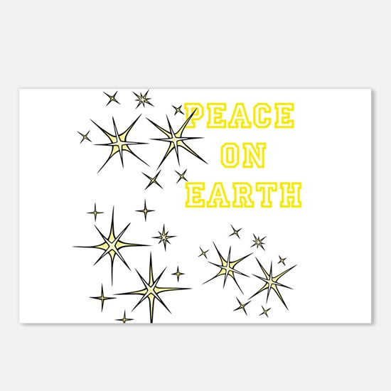Stary Peace on Earth Postcards (Package of 8)