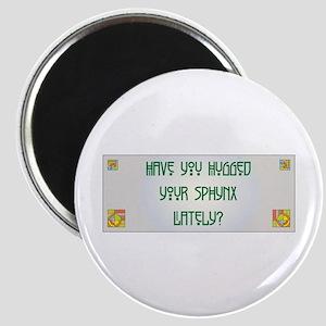 Hugged Sphynx Magnet