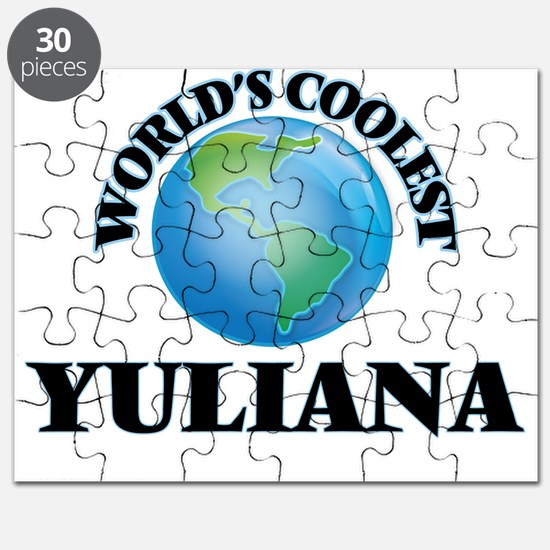 World's Coolest Yuliana Puzzle