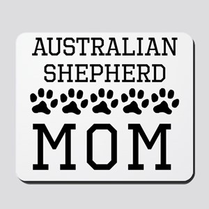 Australian Shepherd Mom Mousepad