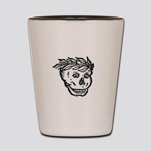 Death's Head Shot Glass