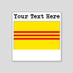 Custom Old South Vietnam Flag Sticker
