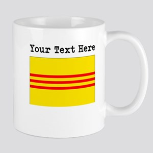 Custom Old South Vietnam Flag Mugs