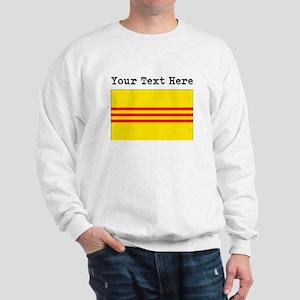 Custom Old South Vietnam Flag Sweatshirt