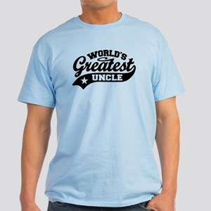 World's Greatest Uncle Light T-Shirt