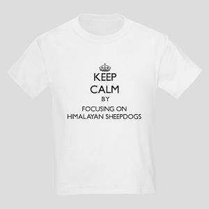 Keep calm by focusing on Himalayan Sheepdo T-Shirt