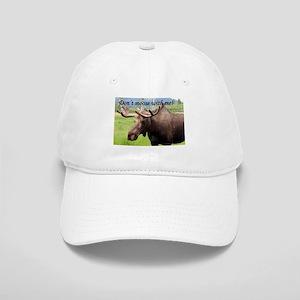 Don't moose with me! Alaskan moose Cap